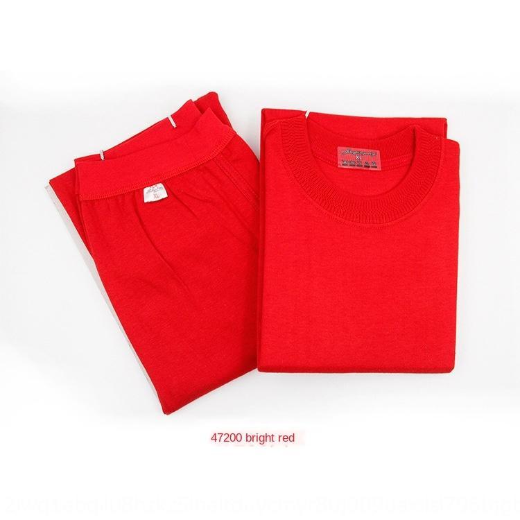 roupas novas dos homens de meia-idade e idosos outono calças roupas pescoço outono de algodão algodão rodada
