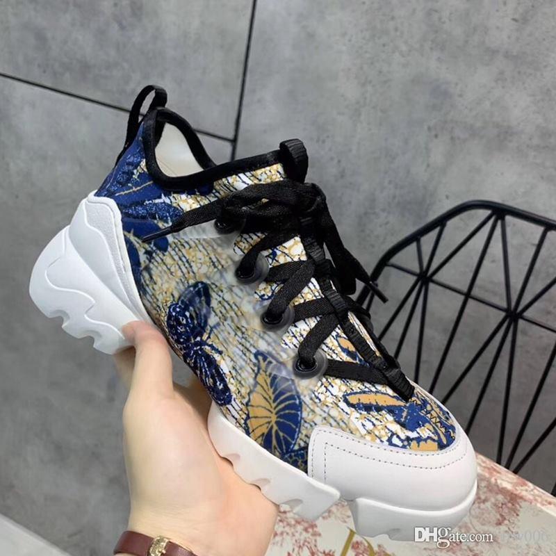 Nuevos hombres calientes de las mujeres CONNECT NEOPRENO zapatilla de deporte de cuero de lujo de los hombres de las mujeres zapatillas de deporte de moda de calidad superior KCK222NGG S11H