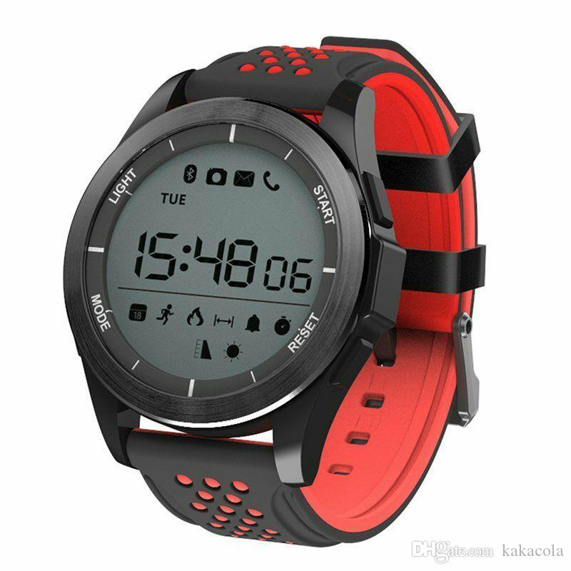F3 스마트 시계 팔찌 IP68 방수 Smartwatches 야외 모드 디지털 피트니스 스포츠 활동 추적기 알림 착용 할 수있는 장치