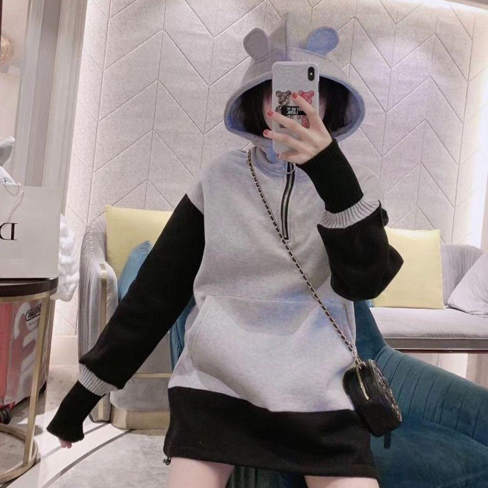 Frauen Pullover Art und Weise beiläufige Pullover Größe one size bequeme warm WSJ000 # 112297 lucky04