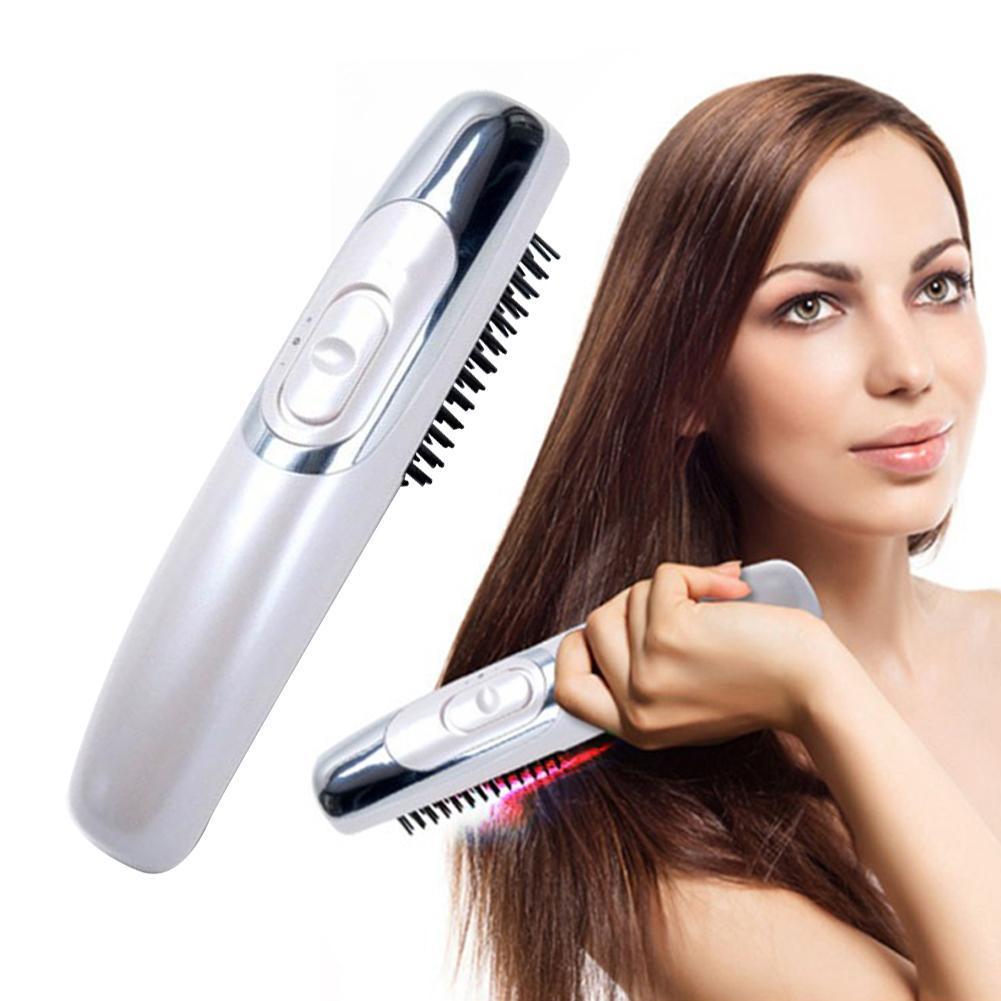 1pc caldo negativo perdita di ioni di massaggio elettrico elettrico pettine Laser antistatico anti-Capelli massaggio del cuoio capelluto pettine