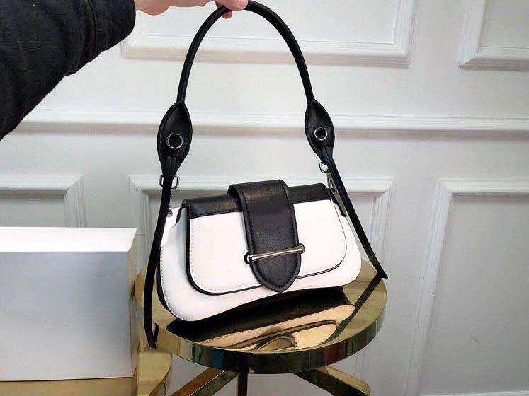 Hohe qualität handtaschen mode klassische messager frauen einkaufstasche abnehmbarer griff schulter umhängetasche frauen umhängetasche 28 cm guten preis
