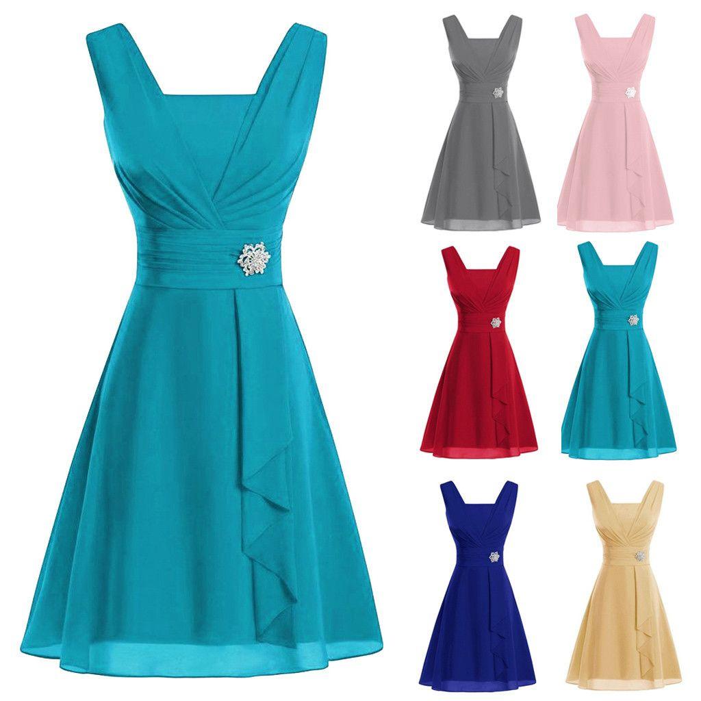 Kadınlar Seksi Örgün Yüksek bel Parti Uzun Elbise Şık Bayanlar Kolsuz İnce Parti Gece Elbise fiesta Artı boyutu z0820 gibi giyinmiş