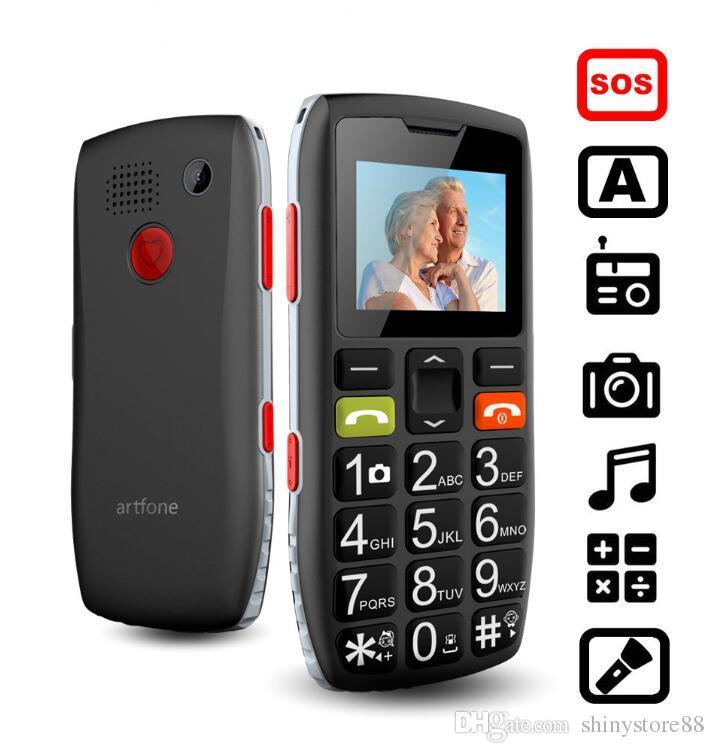 Старший телефон старый телефон хороший старший Большая Кнопка батареи громкоговоритель SOS боковая кнопка двойной Sim-карты