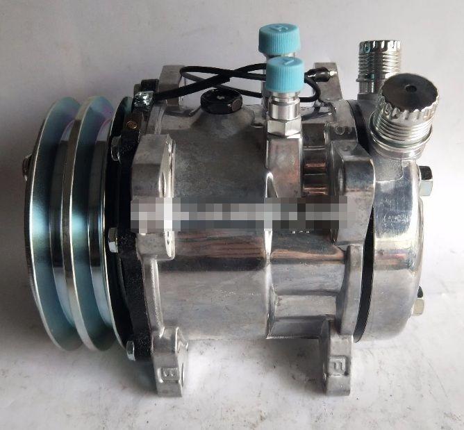 505 유니버셜 AC 압축기 SANDEN 자동 유니버셜 AC 압축기 12V / 24V 풀리 125mm