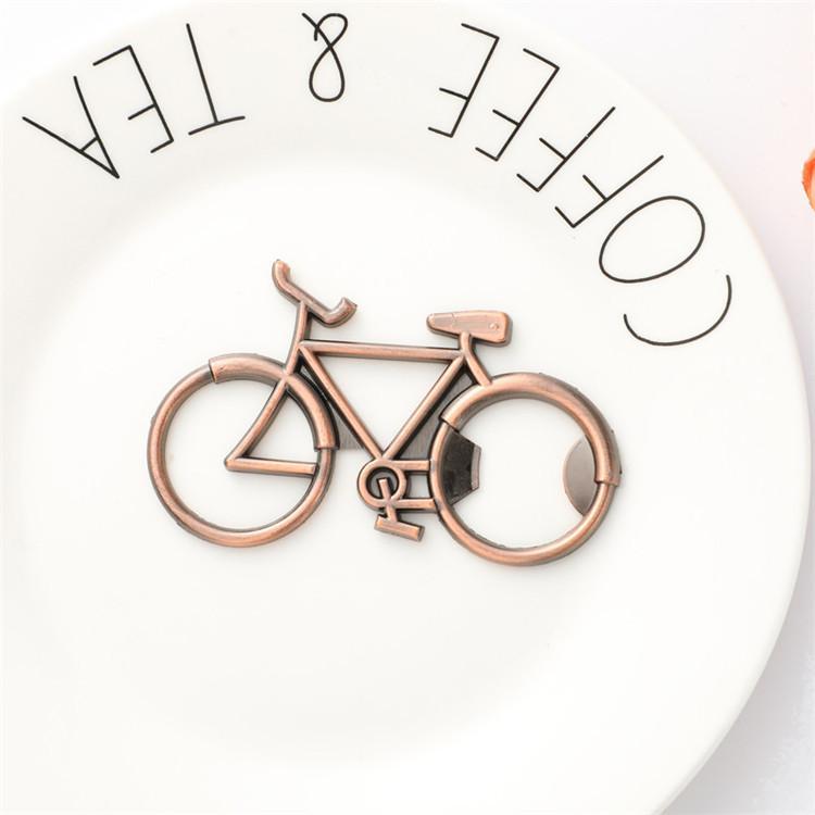 Favore Bottle Opener rame biciclette d'epoca bici birra apri metallo da cucina apri per il ciclismo amante Wedding PartyGift Present300pcs T1I1812
