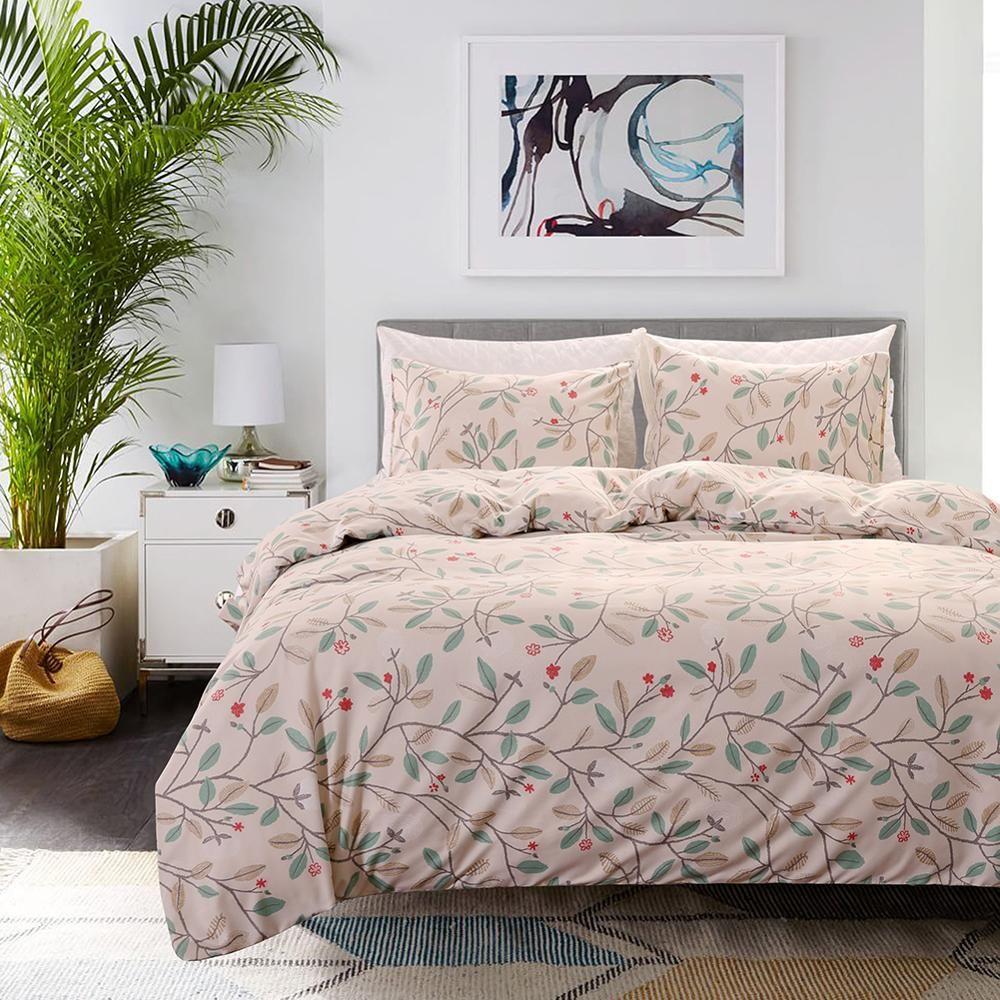 Pastoralen Stil Heimtextilien Deckbetbettwäsche Bettwäsche-Sets Bettwäsche Bettbezug Kissenbezug