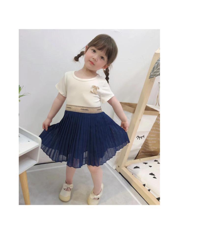 Летняя девушка принцесса иностранное платье Римский хлопок сращивание шифон принцесса юбка Очень удобный стиль 030909
