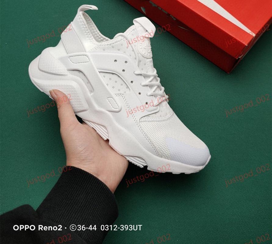 Nike Huarache xshfbcl رخيصة Huarache 1 4 IV الكلاسيكية عن الأبيض والأسود Huaraches أحذية الرجال النساء أحذية رياضية الاحذية الحجم 36-45