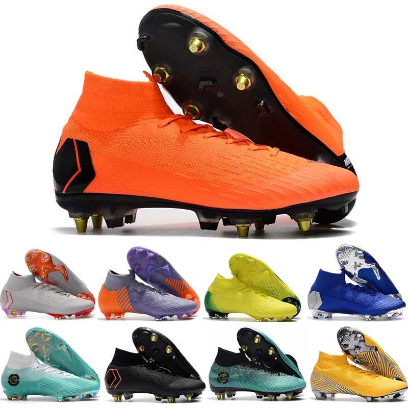 Mens 360 Elite Ronaldo FG CR chuteiras Chaussures Futebol botas de tornozelo futebol chuteiras