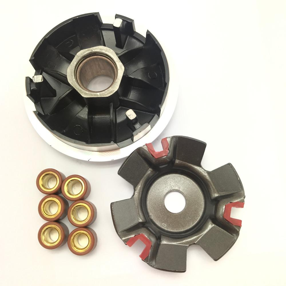 KOSO High Performance Variator Set with Copper Rollers For Chinese GY6 125cc 150cc Scooter 152QMI 157QMJ Engine Parts