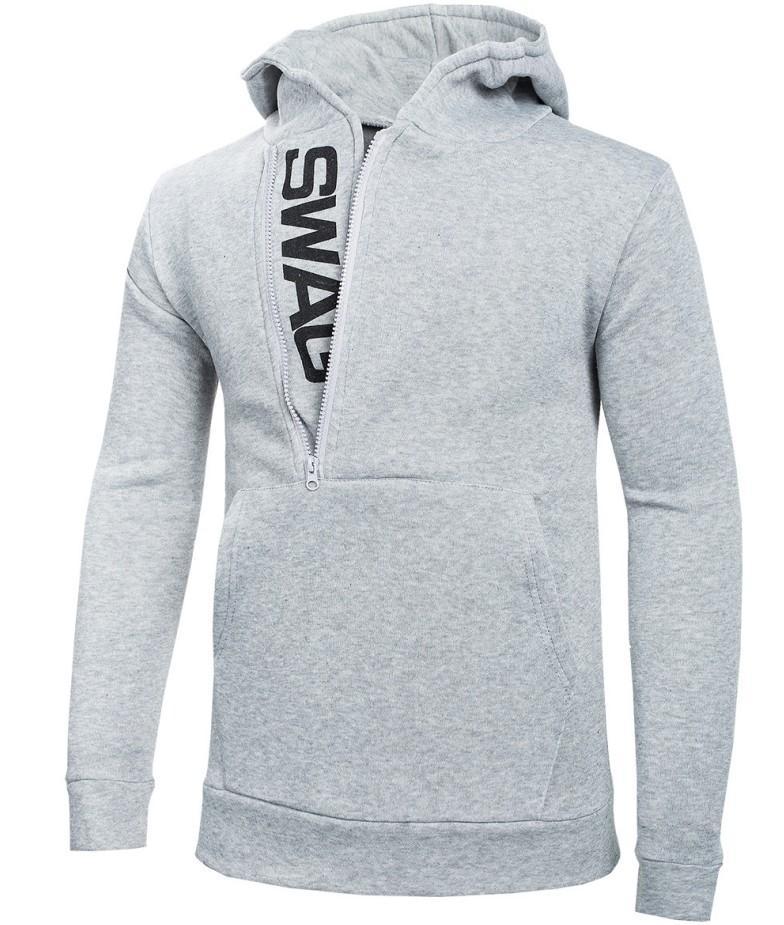 도매 디자이너 남성 의류 패션 스트리트 후드 긴 소매 스웨터 인쇄 편지 사이드 지퍼 후드 칼라 재킷 S-6XL