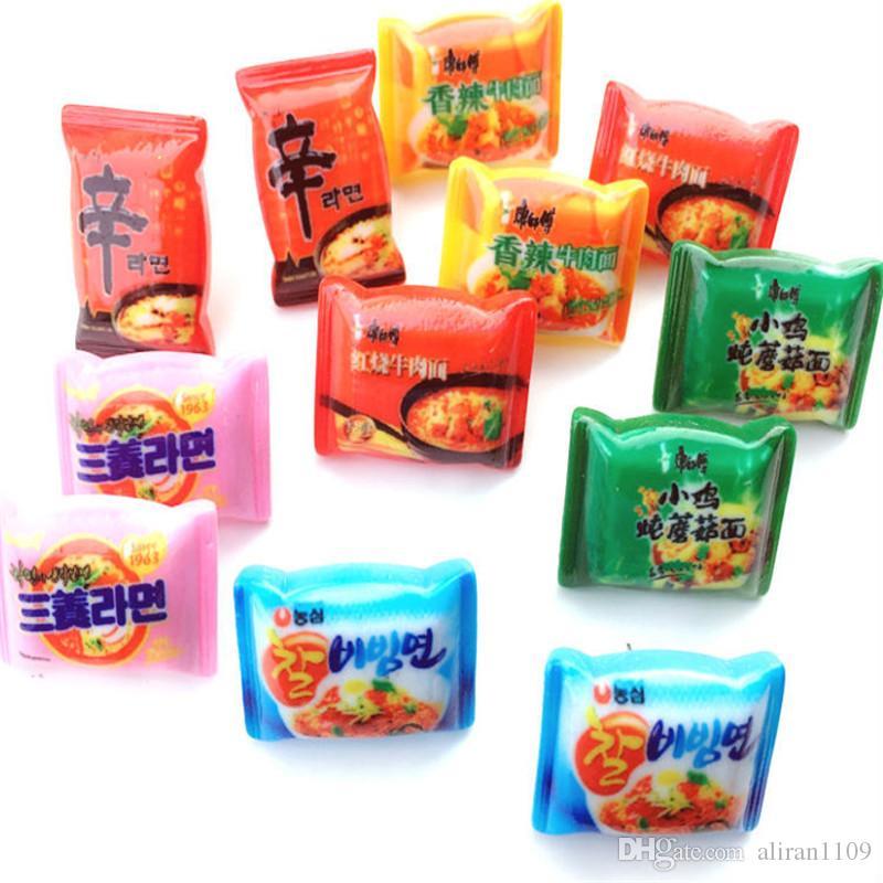 Acryl Lebensmittel Instant-Nudel-Ohrringe Lustige Chili Food-Nudel-Ohrringe Frauen spezielle Geschenke