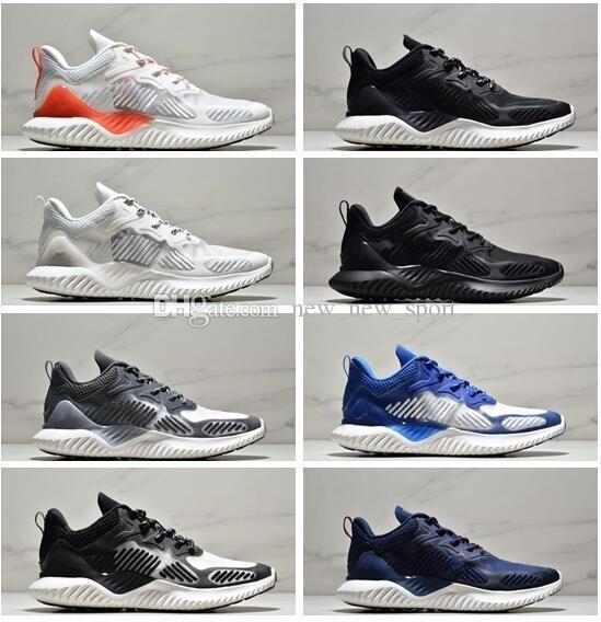 Cheap Sale AlphaBounce M V3 Alpha bounce 3 Running Shoes for Top quality 3s Black White Blue Men Women Outdoors Sneakers Size 36-45