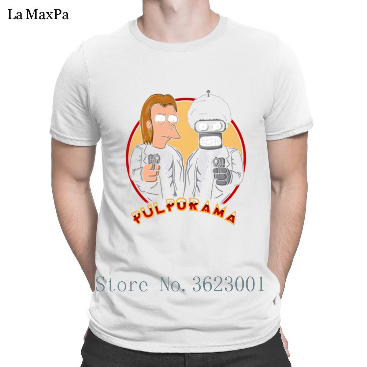Designer T Camisa padrão para o traje dos homens Pulporama Celulose T-shirt da ficção Man Melhor estranho Big Tamanhos Camiseta Aptidão