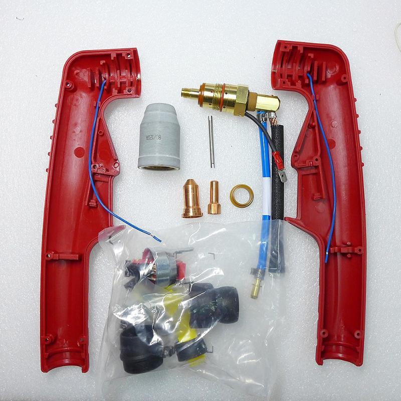 Componentes não HF de substituição de ar por Arco Piloto de substituição de tochas de Corte De Plasma Fubag P100 PT-100 PT100 PT 100 Corpo de tocha