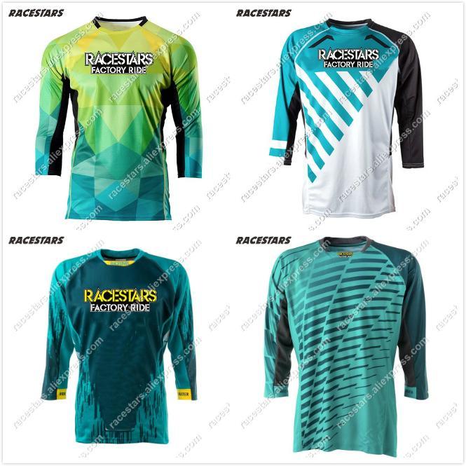 NUEVOS 2020 jerseys de ciclo de la motocicleta de Moto GP XC MX Mountain Bike Motocross Jersey ropa de la camiseta