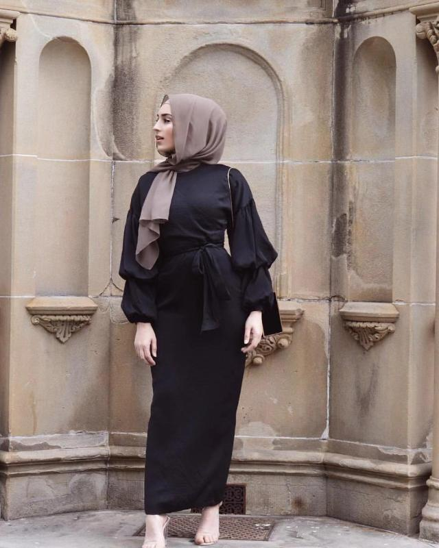 Culto elegante abaya musulmán vestido maxi Nida Cardigan soplo de manga larga túnica Vestidos Jubah kimono Ramadán islámico Kaftan