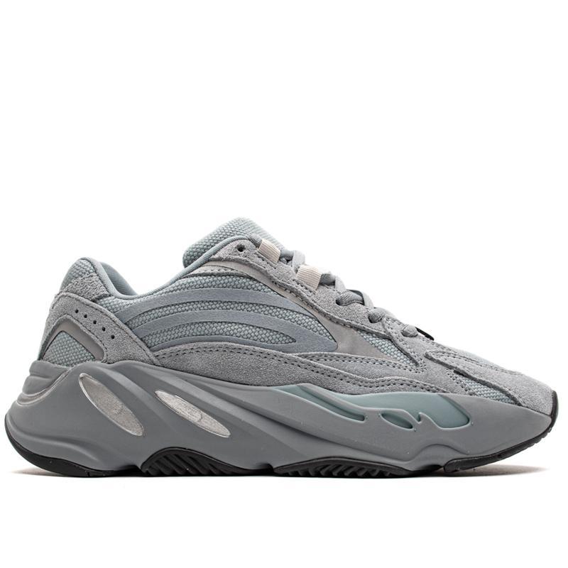 Inertie coureur de vague Hommes Hôpital Femmes Chaussures de sport bleu aimant Tephra Kanye West Chaussures de sport Chaussures de course avec la boîte