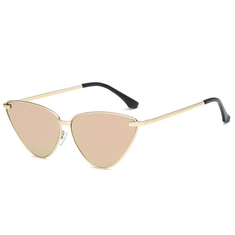 nuevas gafas de sol europeas y americanas gato-ojo retro tiroteo en la calle gafas de sol de las gafas salvajes marinos gafas S8007