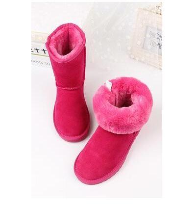 2020 Nova qualidade de alta qualidade u mulheres clássico meia boot botas botas botas botas de neve botas de inverno sapatos de bota de couro tamanho 5-13 g55