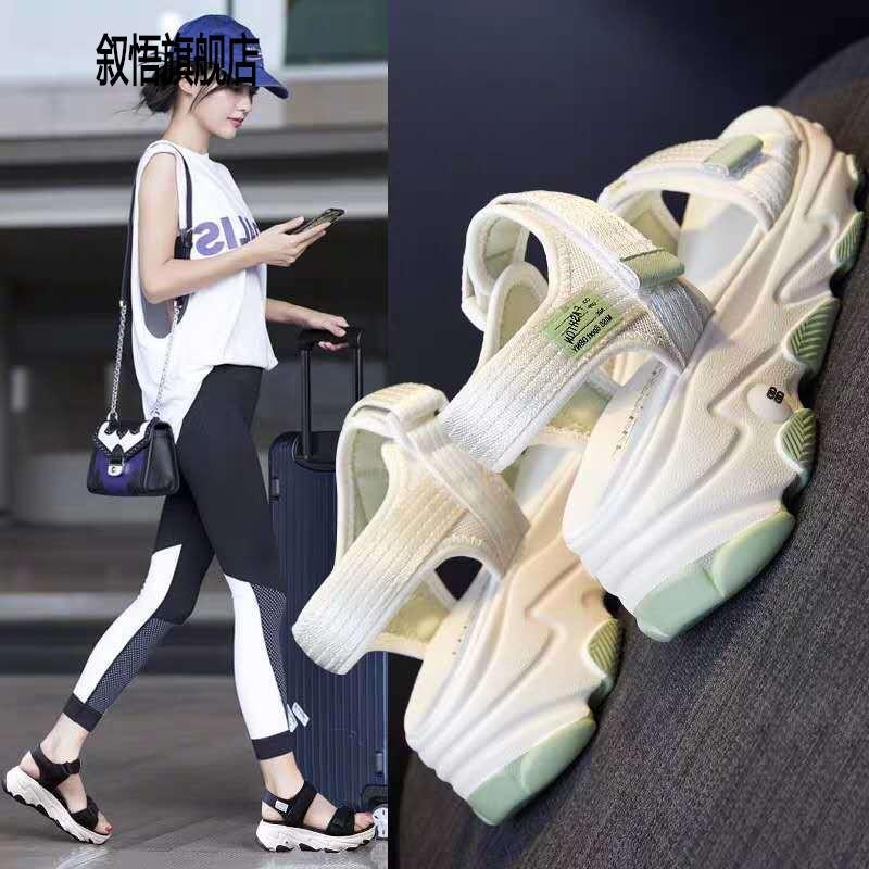 sandalias de plataforma web de celebridades femeninas en el verano de 2020 los nuevos zapatos de moda del verano, zapatos deportivos de ocio comodín ins