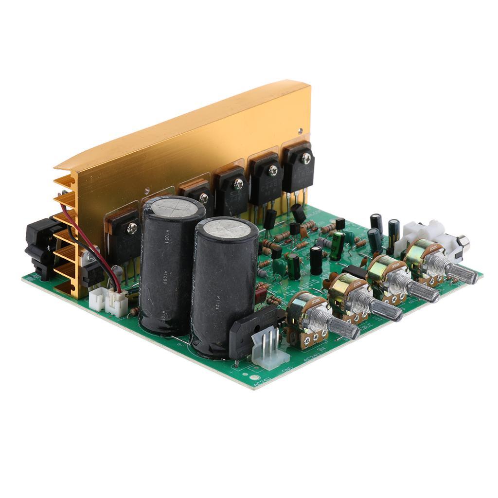 Модуль AC12-24V High Power Deep Bass 2,1 Усилитель Board 3Channel Сабвуфер