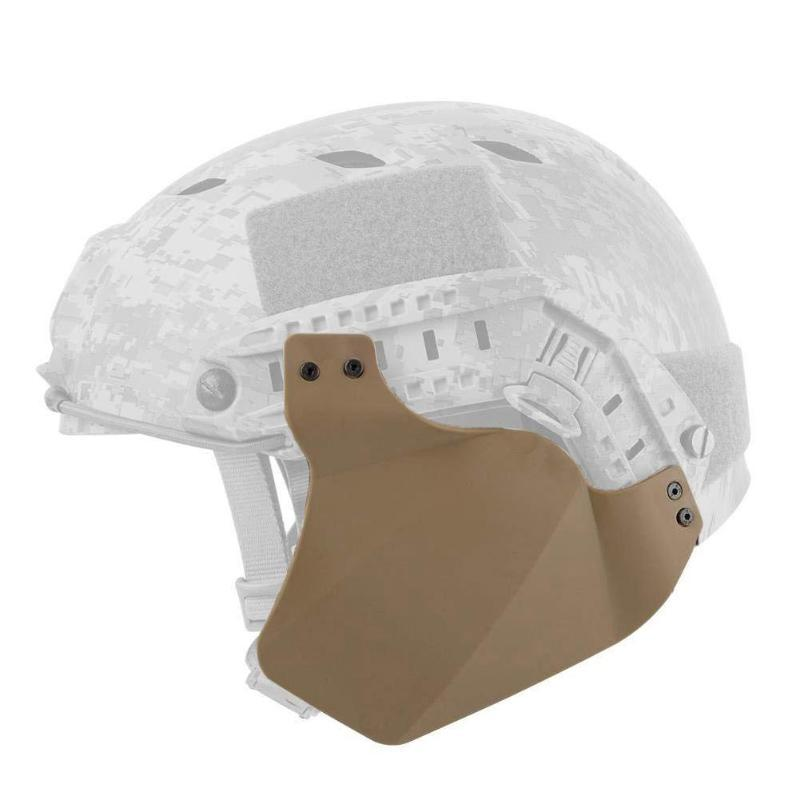 Side Cover For FAST Helmet Rail Tactical Helmet Accessories Soft Rubber Material Two Ear Protection Covers
