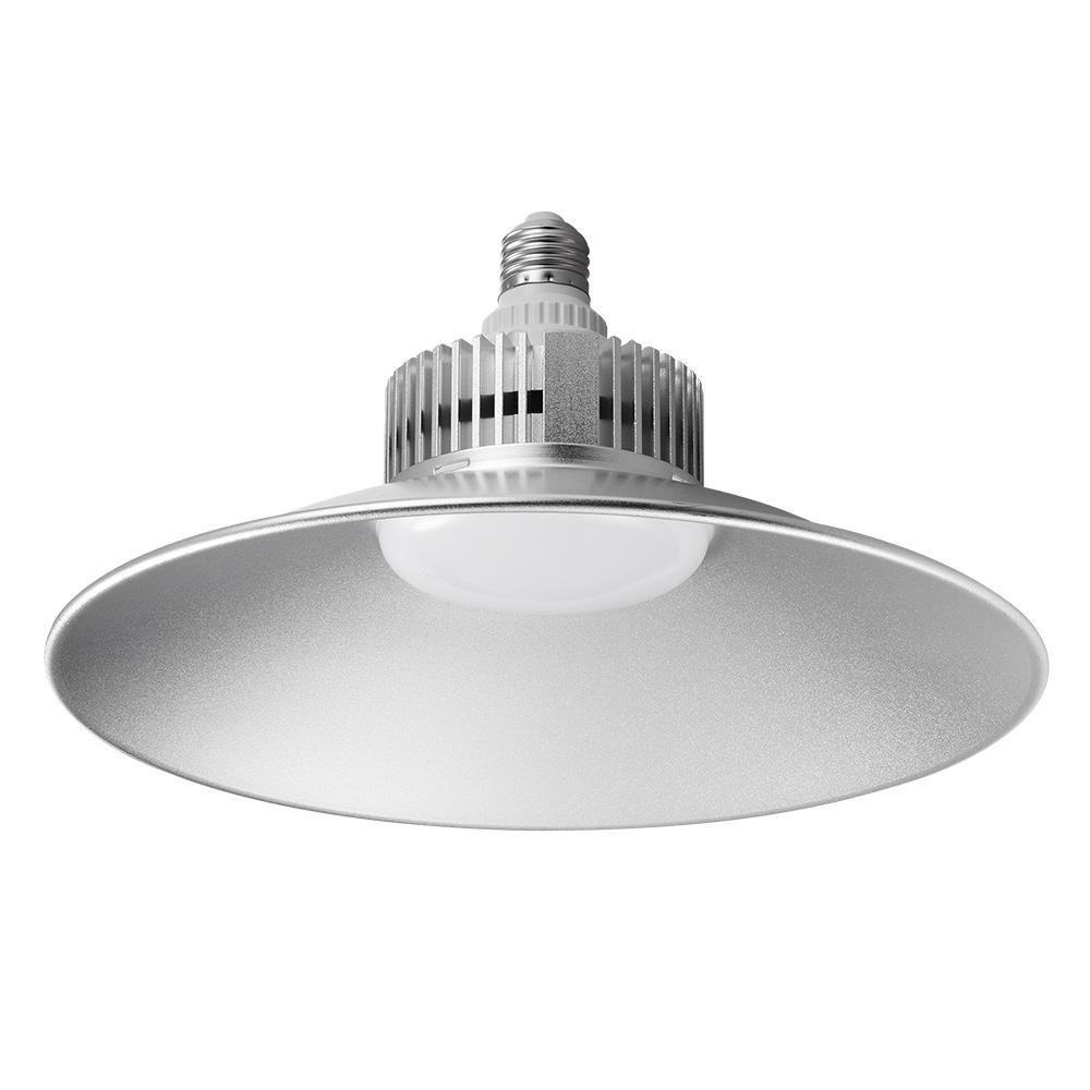 70W Bright LED Luces OVNIR Lámpara de minería Sombrero de paja 220V Ahorro de energía Fxitura para almacenes Lámpara colgante de garaje