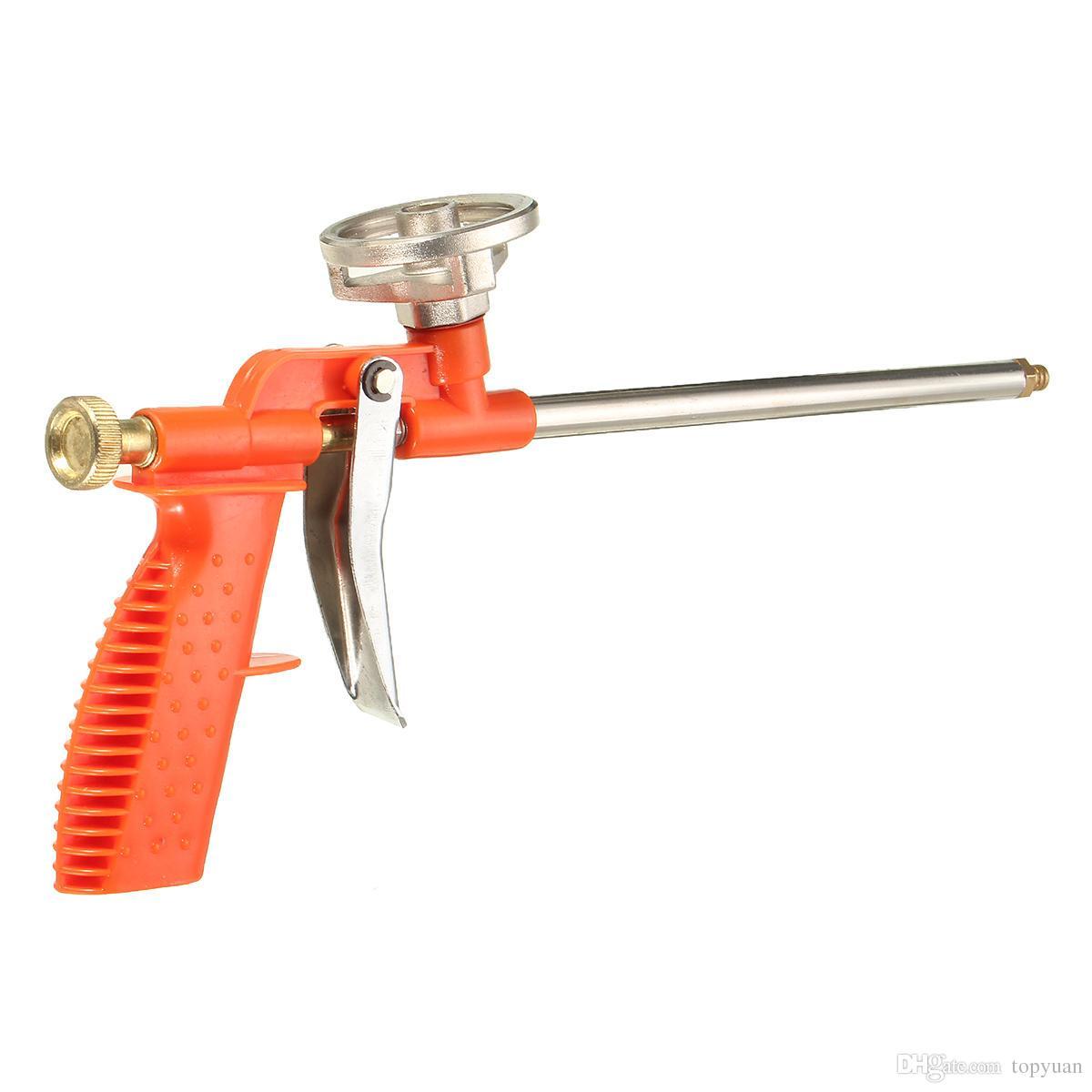 Stainless Steel Material Foam Expanding Spray Gun Sealant Dispensing PU Insul...
