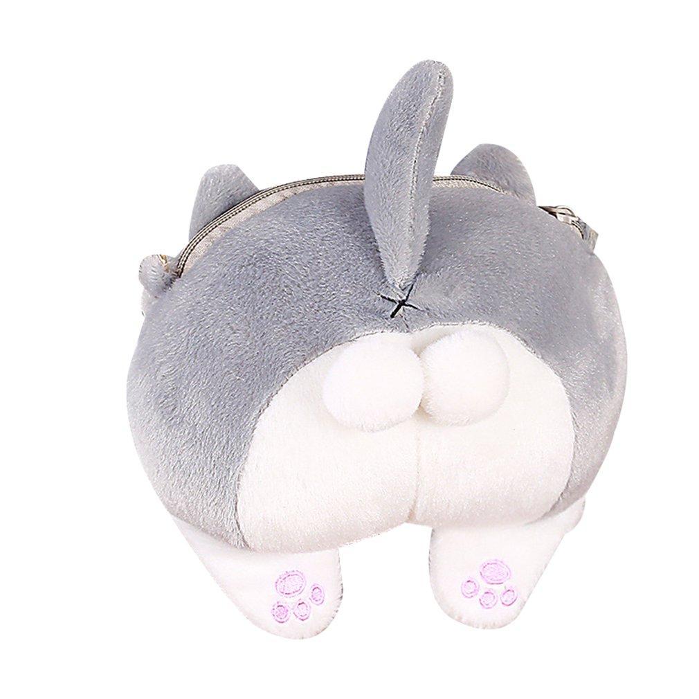 Bonito Shoulder Cat Soft Ass pequeno único saco Meninas Cadeia Bow Mini Messenger Bag Lady Presente criativo Lazer Bolsa