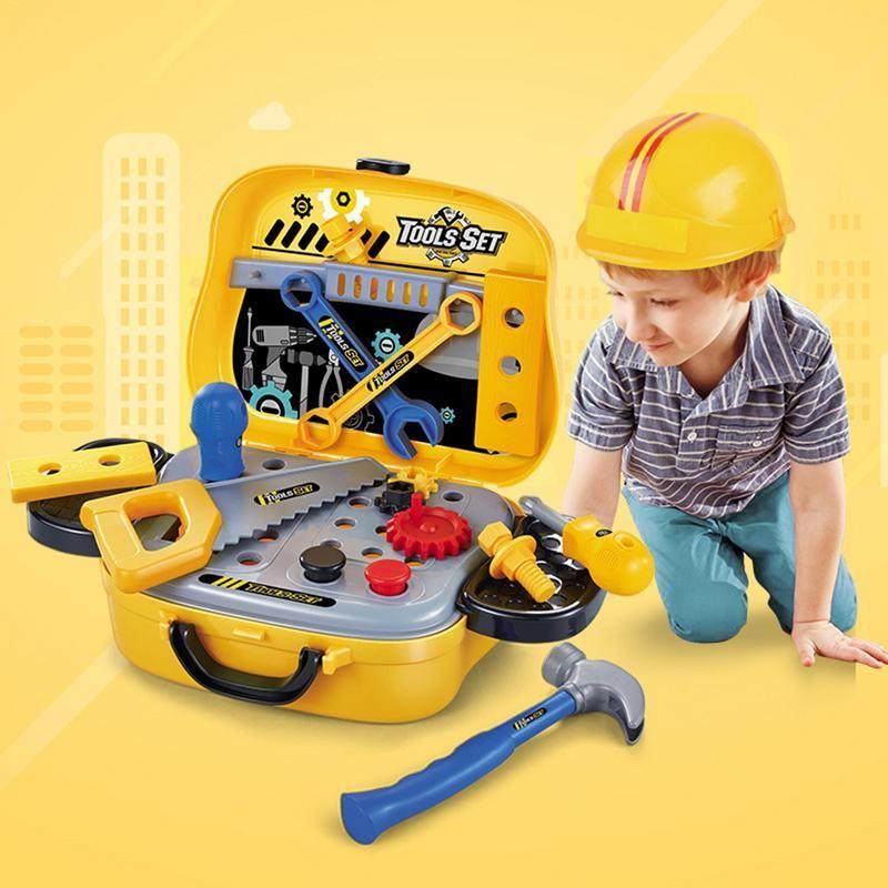 Child Repair Tools Game Play Toy Suitcase Set