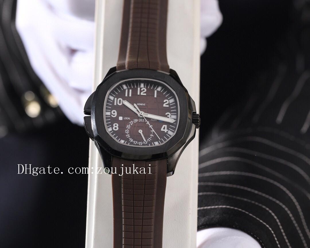2020 роскошь дизайнер бренда мужчины наутилус каучуковый ремешок наручные часы PP акванавт часы PATEK мужские часы D1203