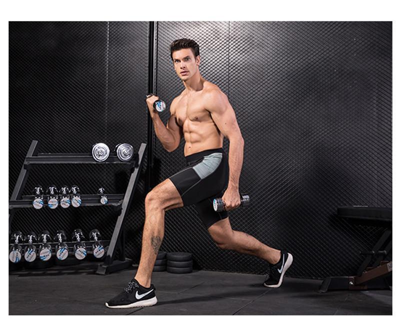 Hızlı Kuru Şort Egzersiz Fitnes Koşu Eğitim Tasarımcısı Şort Yaz Kısa Homme Pantolon Moda Erkek Ter