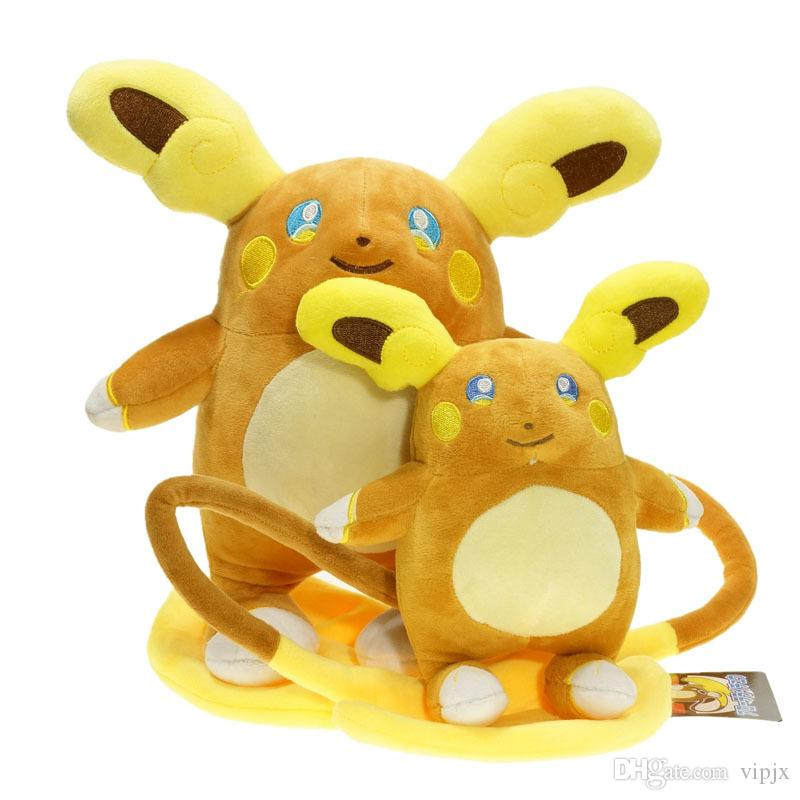20cm Hot Alola Raichu Plush Toy Monster Sun Moon Stuffed Animal Doll gift New