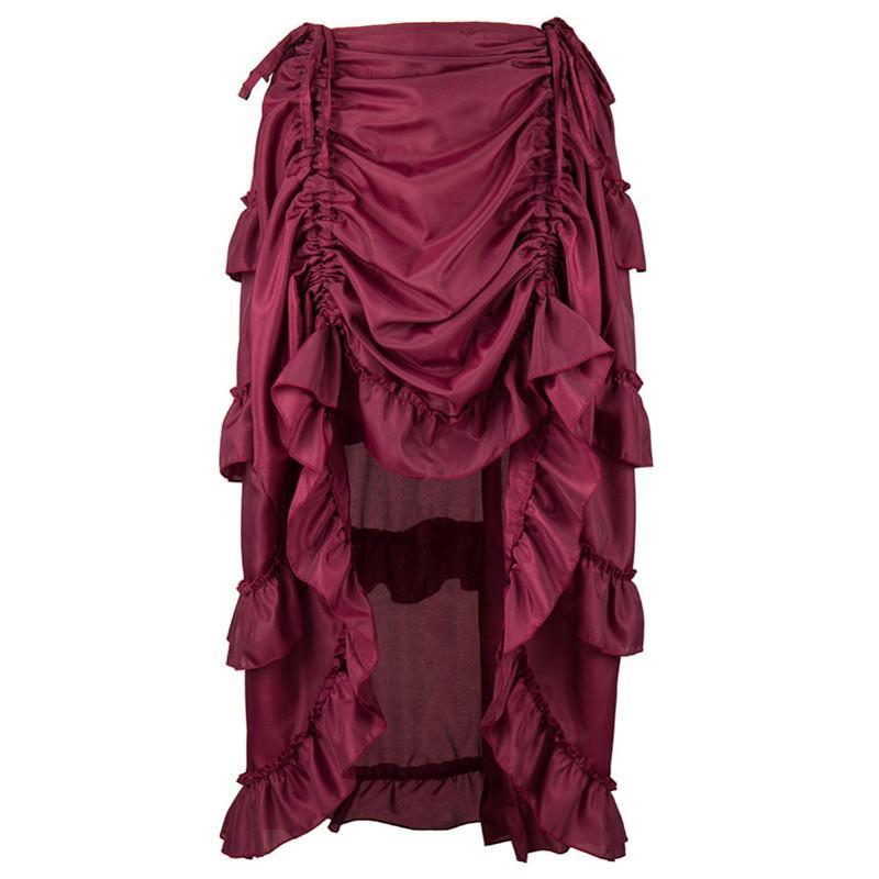 RENAISSANCE Gothic Victorian BLACK Corset Dress Size Jr L Large MSRP $80