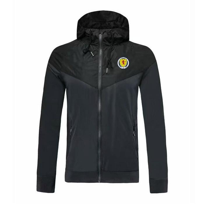 Scozia squadra nazionale di calcio Giacca a vento cappotto, giacca Scozia sport football giacca a vento caldo di vendita può essere Giacche esecuzione personalizzati fai da te