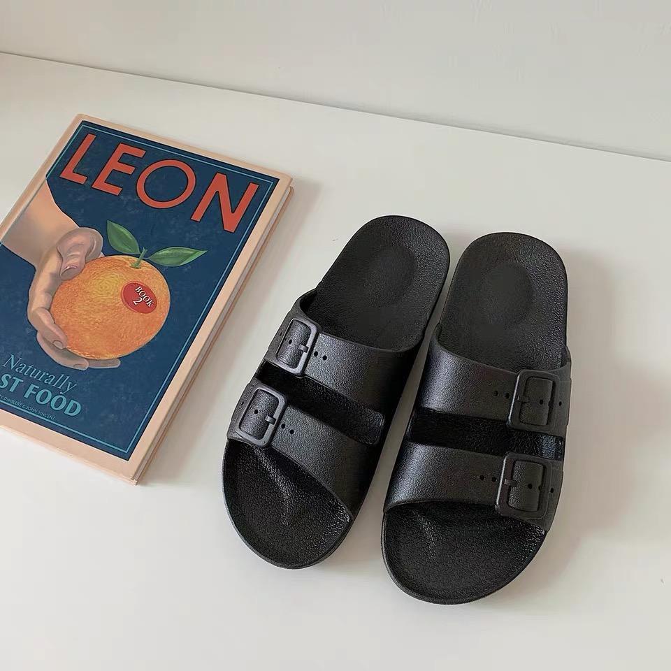 ¡Envío gratis! 2020 primavera verano zapatos del diseñador de las sandalias de las mujeres de moda los hombres de cuero genuino con la caja
