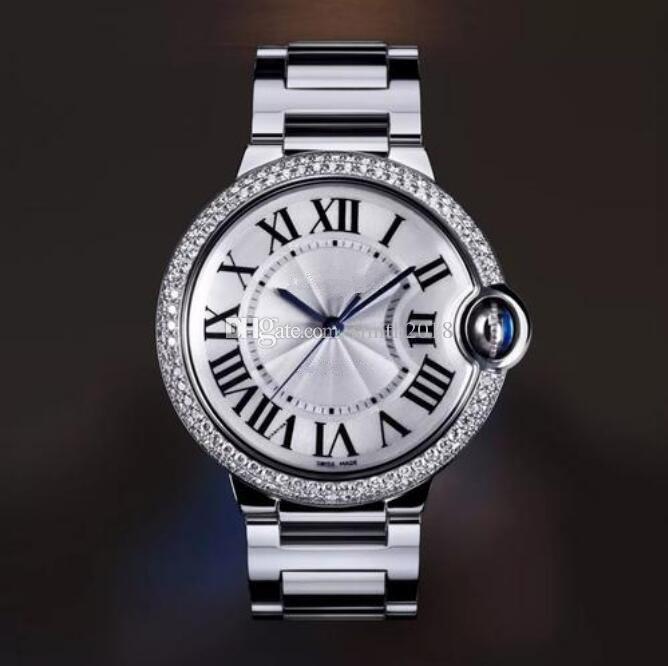 Горячее надувательство нового способа классический человек кварцевые часы движение роскошь нержавеющей стали роскошные часы Кварцевые часы мужской часы Мода бизнес ca17
