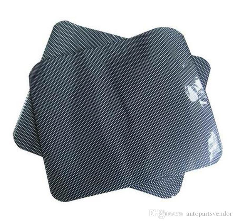 CWholesale High Quality 2PCS Car Side Window Protection Static Cling Sun Block Sunshade Cover Shield Screen Visor Black 42x38cm