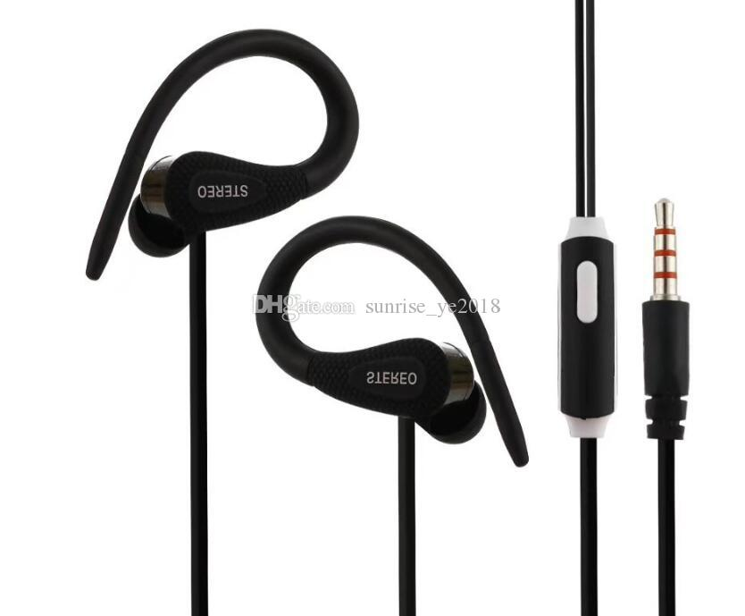 New Sf A65 Sports Earphone Universal 3 5mm Headphone Earbuds Stereo Headset With Microphone For In Ear Earphone For Smartphone For Samsung Cell Phone Wireless Headset Headset For Phones From Sunrise Ye2018 1 17 Dhgate Com
