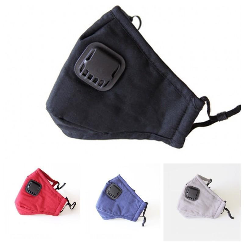 Nueva Cara 2020 Los respiradores con la respiración Máscaras Válvula PM2.5 unisex protegen la boca de la máscara a prueba de viento Adultos Fuera Ciclismo 11 5zz H1