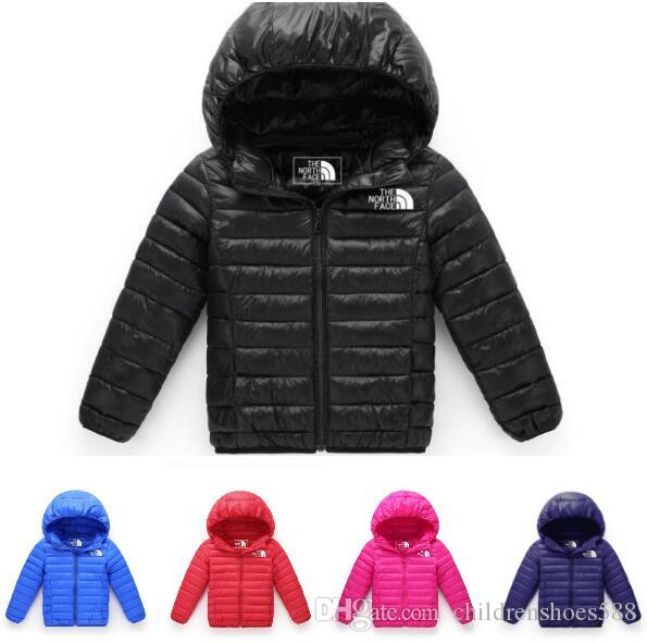 Children Jackets Coat for Boy Girls Winter Jacket Warm Hooded Children outerwear