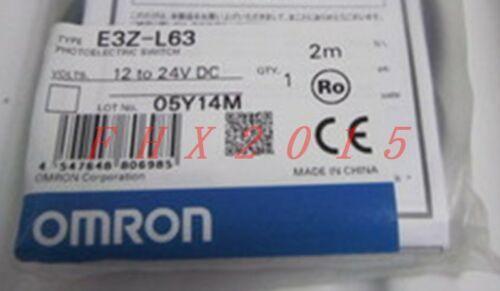 UN NUOVO Omron sensore fotoelettrico E3Z-L63