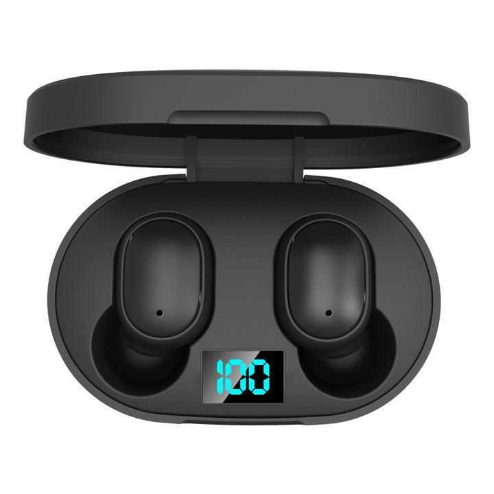 سماعات الأذن اللاسلكية بلوتوث 5.0 سماعة HIFI البسيطة في سماعات الأذن الرياضة للهواتف أندرويد IOS E6S قوة العرض سماعات للحصول على XIAOMI