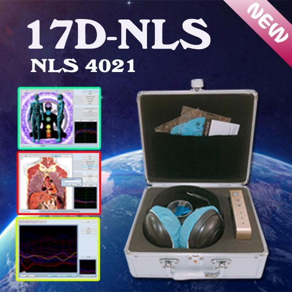 في أحدث نسخة جبلة 17D-NLS غير الخطية تحليل نظام آلة بالرنين الحيوي - هالة شقرا الشفاء مجانية SHIIPING بالنسبة لك