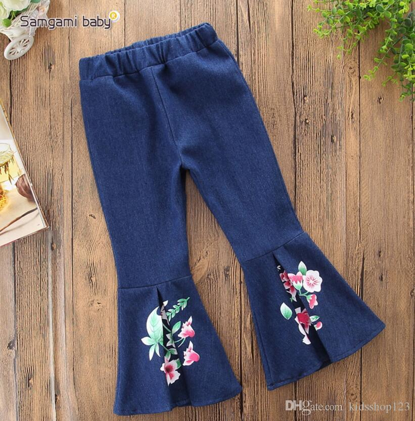 100/% cotton Kids Girls Unicorn Casual Long Pants Costume Clothes Casual Trousers