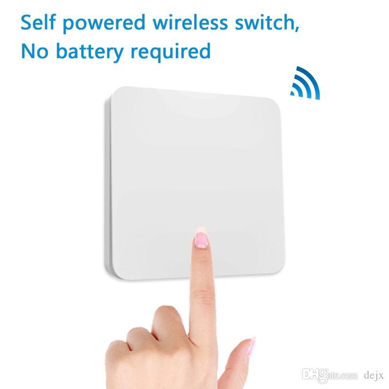 Freeshipping generale Wireless Socket Kit Con Kinetic autoalimentato interruttore di telecomando wireless Echo casa Voice Control