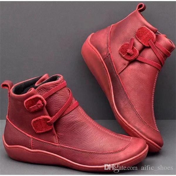 مصمم المرأة الجوارب أستراليا مارتن أحذية السيدات الكاحل الحذاء منصة أحذية LEAHTER رمادي أزرق الشريط الإبزيم أحذية US12 دروبشيبينغ