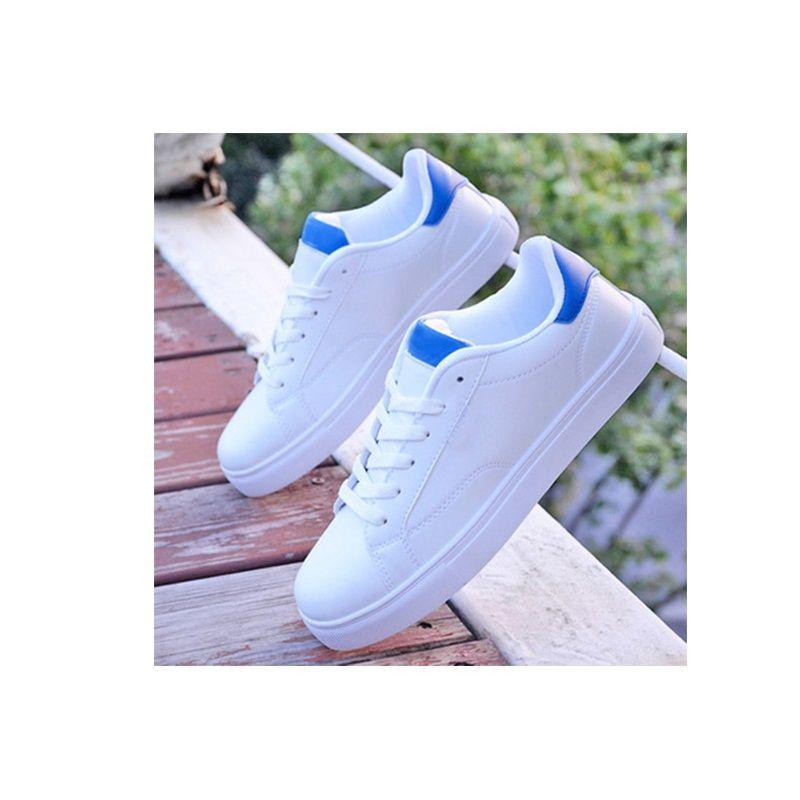 Autunno nuova scarpe sportive degli uomini dei pattini bianchi giovani scarpe da skateboard versione coreana uomini del trend di studenti uomini piatte